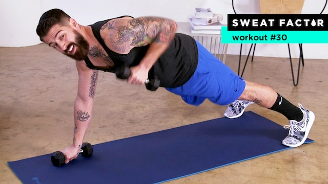 15-Minute Total Body Challenge Workout