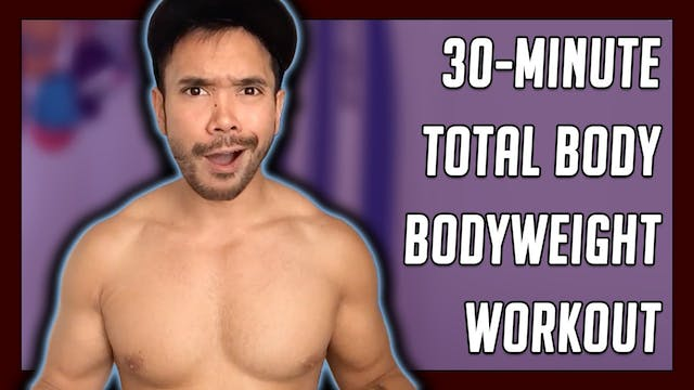 [ MASHUP ] 30-Minute Brutal Bodyweigh...