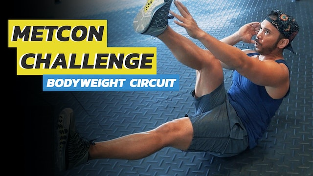 3-Exercise Bodyweight Circuit Workout Routine