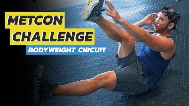 3-Exercise Bodyweight Circuit Workout Routine