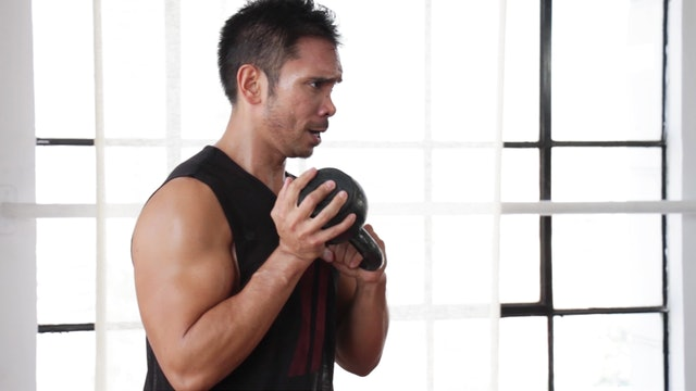 10 Minute Kettlebell Workout