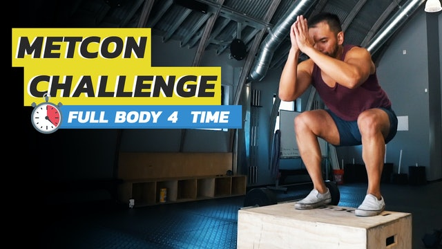 3-Exercise Full Body Circuit for Time