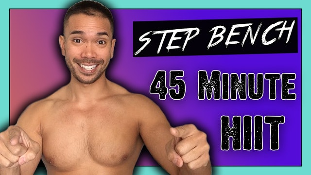 [ MASHUP ] 45-Minute Fat Melting Step HIIT Workout