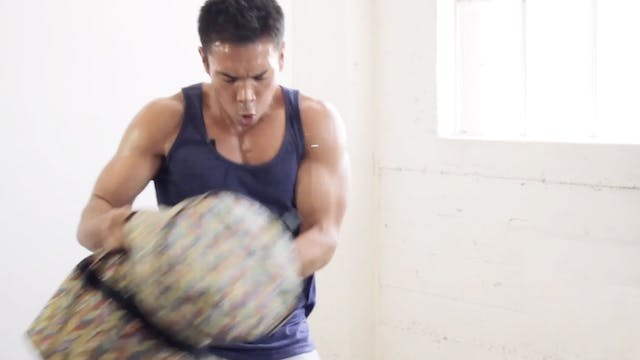 15-Minute Sandbag Workout Video
