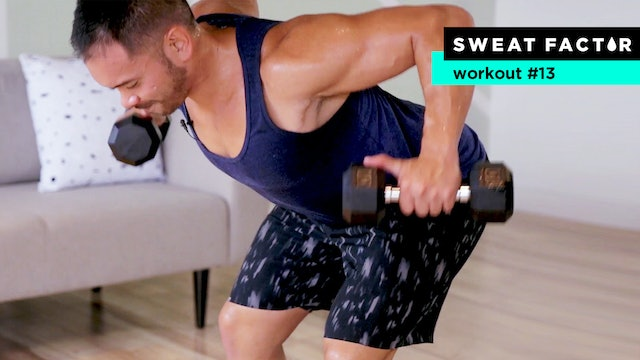 35-Minute Hardcore Dumbbell Strength Workout