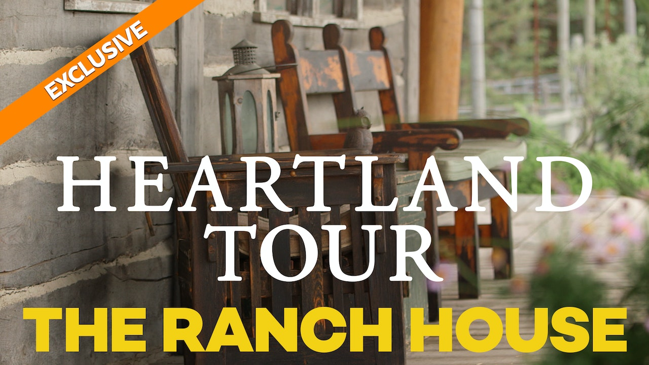 """On the Set"" with Heartland's Amber Marshall - The Ranch House"