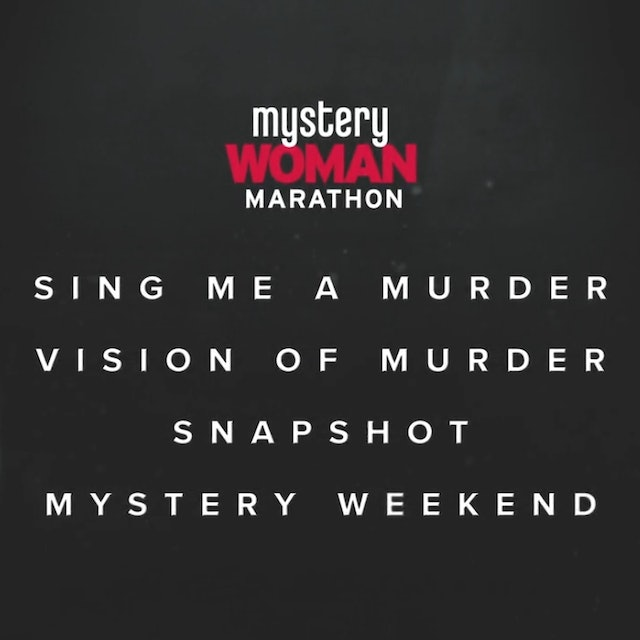 Coming Soon - The Mystery Woman Movie Marathon Collection (10/2)
