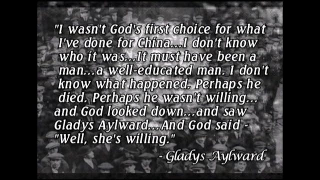 Gladys Aylward Documentary