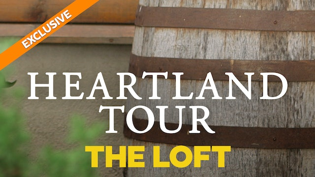 On the Set with Heartland's Amber Marshall - The Loft