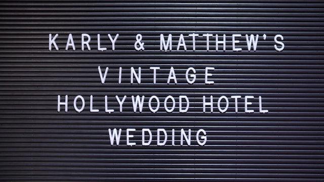 Vintage Hollywood Hotel