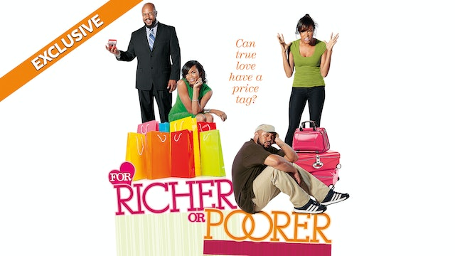 For Richer or Poorer - UP Faith and Family