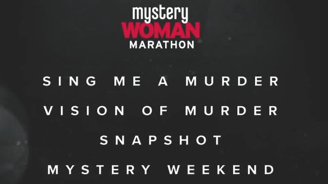 Coming Soon - The Mystery Woman Movie...