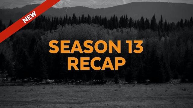 Season 13 Recap