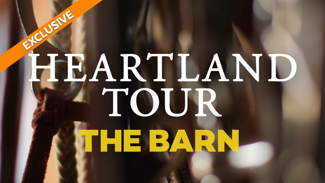 """On the Set"" with Heartland's Amber Marshall - The Barn"