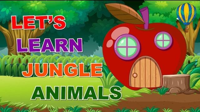 Learn Jungle Animals