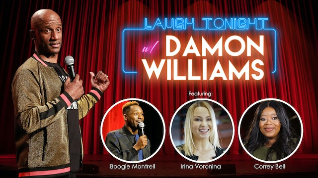 Laugh Tonight With Damon Williams - Laugh Tonight Be Serious Tomorrow