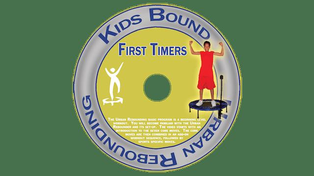 Urban Rebounding Kids Bound - First Timers