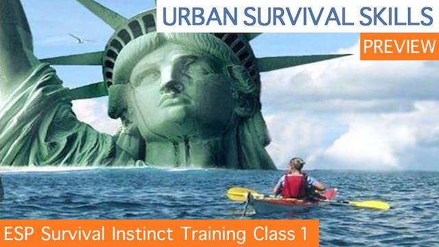 ESP Survival Instinct Training Class 1 PREVIEW