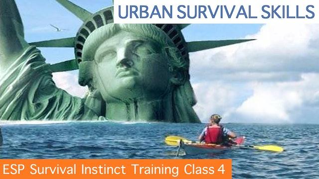 ESP Survival Instinct Training CLASS 4
