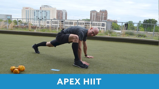 Day 1 - Intermediate APEX HIIT with Bob