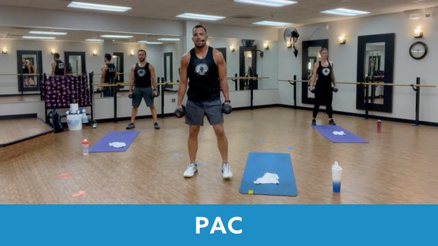 TONE UP 21 WEEK 5 - P.A.C. with Rico