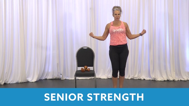 Senior Fitness Strength Circuit with Juli