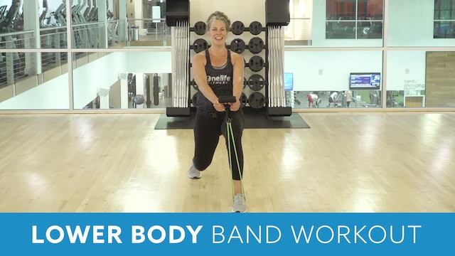 Lower Body Band Workout with Juli