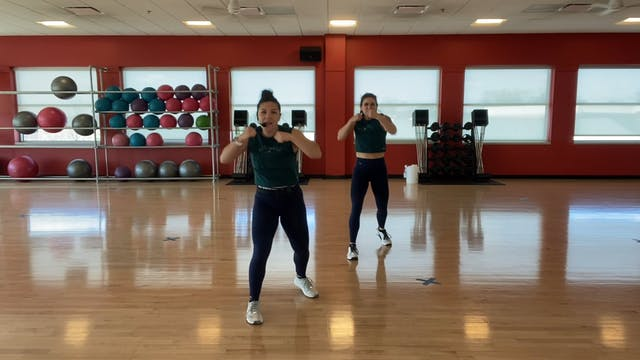 BODYCOMBAT 86 with Mary and Nikki (LA...