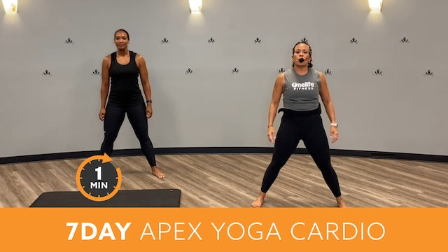 7Day Minute to Win it Challenge - APEX Yoga Cardio with JoAnne