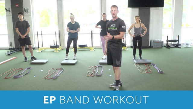 Explosive Performance (EP) Band Workout with Virtual Coach Kris