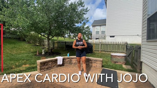 APEX Cardio 40 Minutes with JoAnne