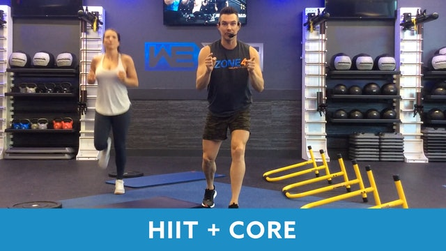 Day 3 - Intermediate HIIT+Core Workout with Josh