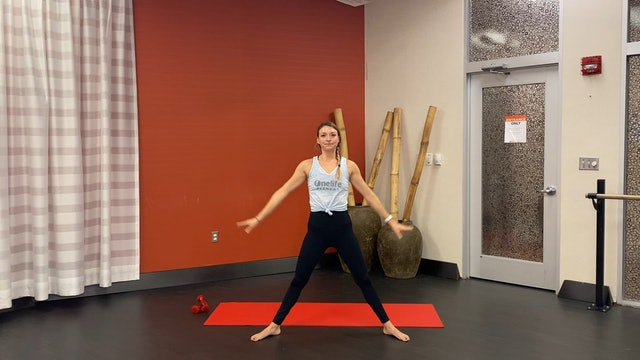 Barre with Carli (LIVE Tuesday 11/7 @ 5pm EST)