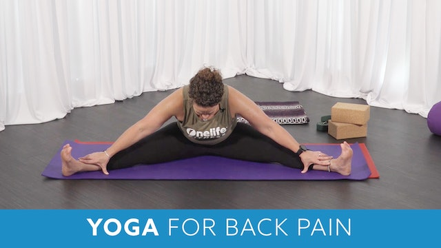 Yoga for Back Pain with Morgan