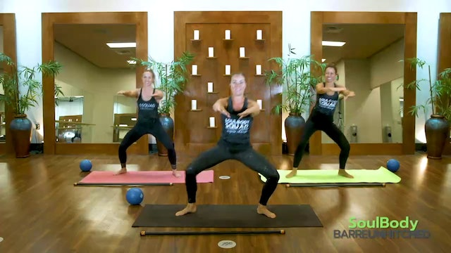 SoulBody Unhitched 20 minutes Core + Thigh_Glutes