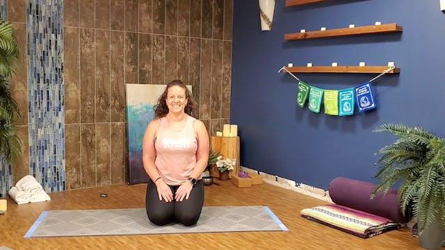 Yin Yoga with Morgan (LIVE Monday 2/1...