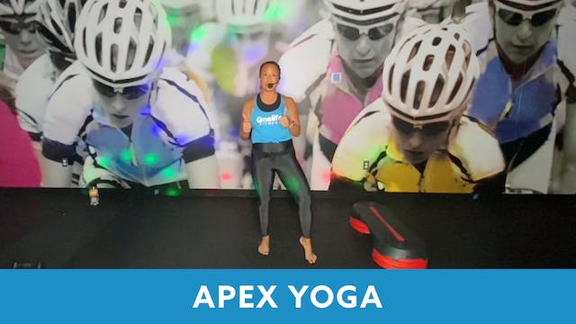 TONE UP 21 WEEK 8 - APEX YOGA with Jo...