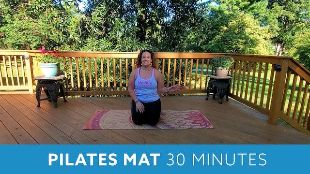 Pilates Mat with Morgan - OCTOBER