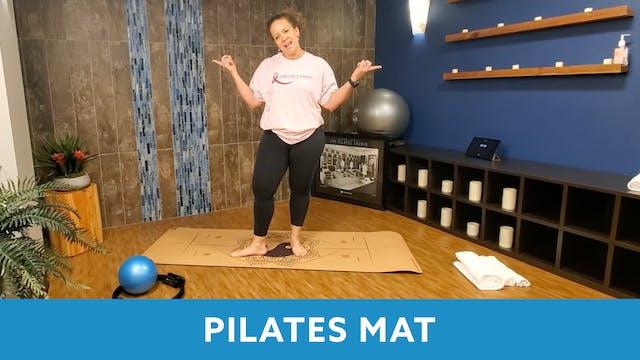 Pilates Mat with Morgan (LIVE Mon 10/...