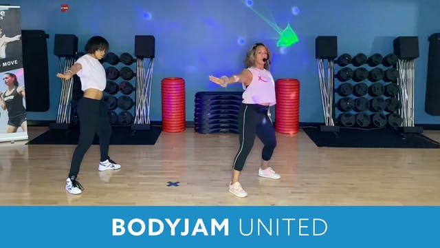 BODYJAM UNITED Part 2 WITH JoJo (LIVE...