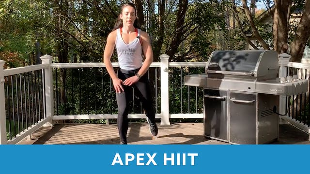 APEX HIIT 30 with Allison (LIVE Thurs...