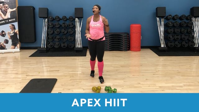 APEX HIIT with Sam (LIVE Wednesday 10...