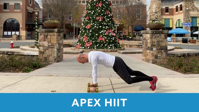 APEX HIIT with Bob (LIVE Monday 11/30...