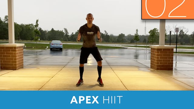 APEX HIIT #61 with Bob (LIVE Monday 8...