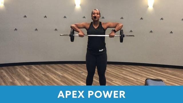 APEX POWER #15 with Sam (LIVE Tuesday 10/13 @ 5:00pm EST)