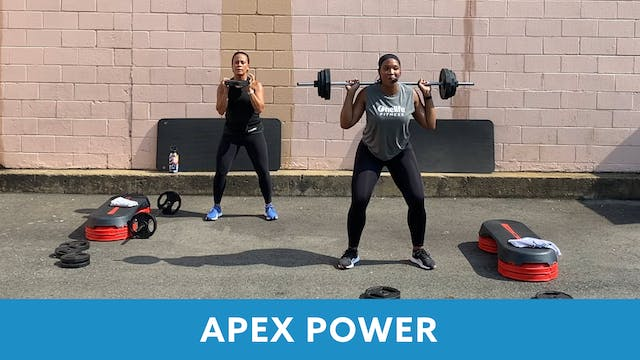 APEX POWER with Sam (LIVE Friday 8/28...