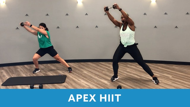 Transformation Challenge - (Week 3 Workout 3) APEX HIIT #29 with Sam