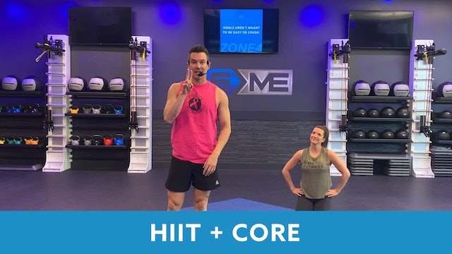 HIIT+CORE Workout With Josh