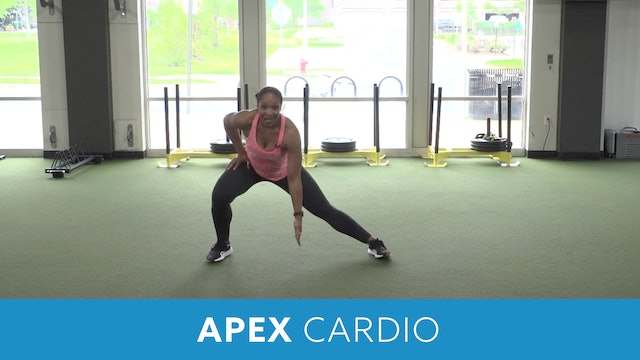Day 4 - Intermediate Part 2 - APEX Cardio #1 with Sam