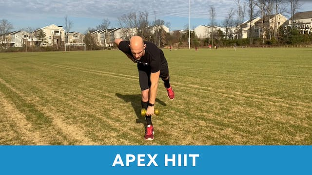 APEX HIIT with Bob (LIVE Monday 12/14...